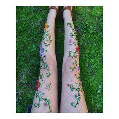 "Lirika Matoshi on Instagram: ""•lilies• #lirikamatoshi #fishnettights #madeinnyc (available now)"""