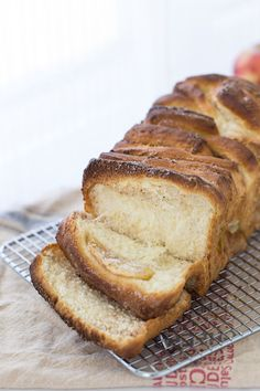 Celebrate National Apple Pie Day with this Apple Pie Cream Cheese Bread by @zmansaray on our blog.