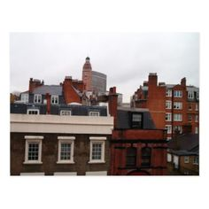 Rooftops of London Postcard - postcard post card postcards unique diy cyo customize personalize