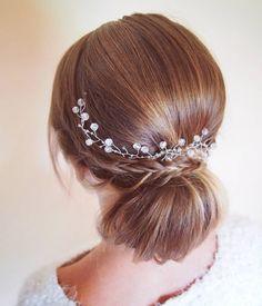 I kolejna #slubna  dopiero się rozkrecam  #NIVEAhairChallenge #WeddingHair #fryzuraslubna #konkurs #weddingupdo #classic #hairstyle #handmade #jewellery #blonde