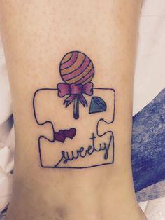 Tatuaje pieza puzle