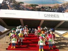 Playmobil géant - Photo de groupe n°1 - 2012 (Cannes, France)