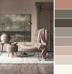 48 ideas for living room grey walls house colors Living Room Color Schemes, Paint Colors For Living Room, Paint Colors For Home, Living Room Grey, House Colors, Living Room Designs, Living Room Decor, Bedroom Decor, Bedroom Ideas