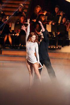 Anna Trebunskaya and Val Chmerkovskiy  (so great to see Anna dancing again!)