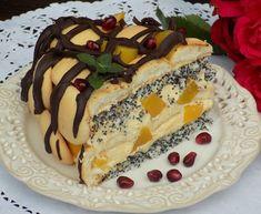 Domowa Cukierenka : torcik makowy z brzoskwiniami Food And Drink, Baking, Poppy, Cake, Ethnic Recipes, Blog, Poppy Seed Cake, Pies, Bakken