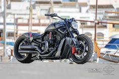 """Awesome custom bike Harley Davidson V Rod Fat Ass """"Edition by Rick's Motorcycles Harley Davidson V Rod, Harley Davidson Motorcycles, Night Rod Special, Custom Harleys, Custom Bikes, Hd V Rod, V Rod Custom, Honda Shadow Bobber, Motorcycle Manufacturers"""