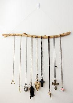 jewelry display branch by cristina