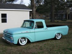 '62 Ford Unibody my next project truck!!!