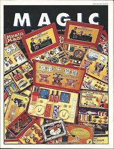 Mysto Magic Sets article-Richard Kaufman-Genii Magazine-Jan-1993-Color Images nr