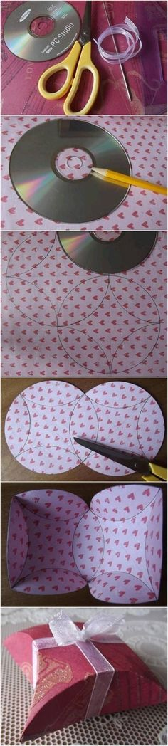 How to Make Easy Gift Package with CD