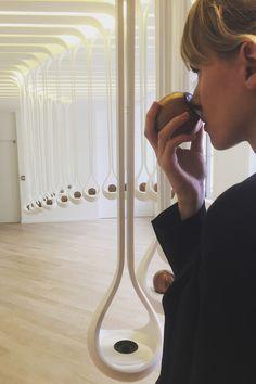 Scent Drops, expérience olfactive par H&J pour Le Grand Musée du Parfum à Paris