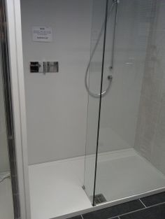No moving parts and long shower tray