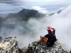 "Armand du Plessis on Instagram: ""In the clouds enjoying a bit of the view over Hout Bay #mountainrunning #capetown #houtbay #trailrunning"""