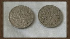 Britain 1955 & 1956 six pence piece Queen Elizabeth 2 by brianspastimes on Etsy