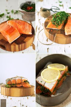Chew Town: Herb Baked Salmon...this was fabulous!! I would skip the chilli's next time though...maybe add some lemon rind...something more citrusy =)