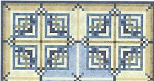 Woven Cabin quilt pattern by Pam Bono Designs