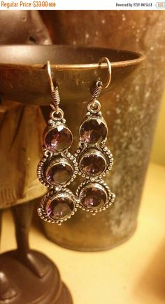 Check out this item in my Etsy shop https://www.etsy.com/listing/421639558/earrings-sale-summer-amethyst-earrings