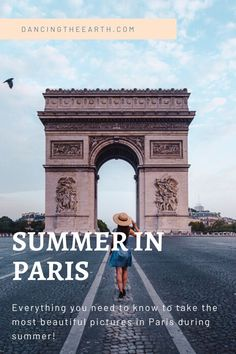 Dancing-The-Earth Paris photography guide – my favorite photo spots during summer