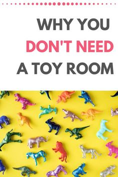 Thinking about how to organize a toy room because your house feels like it's been overtaken with kids clutter? You might want to rethink that. You may not a toy room at all! Tips and ideas for organizing kids toys even with no dedicated toy room.