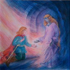 Il principe senza paura - f.lli Grimm Illustrazione di Irma Stropeni
