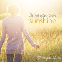 Bright Thoughts: Don't let others dampen your sunny disposition! 5 ways to ward off energy vampires.