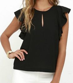 Blouse Styles, Blouse Designs, Teen Fashion, Womens Fashion, Whatsapp Messenger, Summer Blouses, Blouses For Women, Nice Dresses, Need Supply