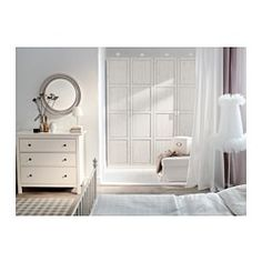 HEMNES 3 drawer chest - white stain - IKEA