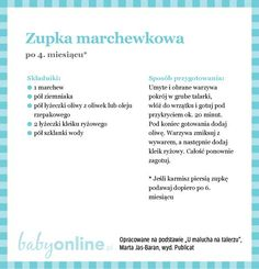 Przepisy dla niemowlaka - Zupki dla niemowlaka | Strona 2 | Baby online 2 Baby, Baby Time, Baby Food Recipes, Healthy Recipes, Baby Cooking, Vogue Kids, Kids And Parenting, Baby Room, Food And Drink