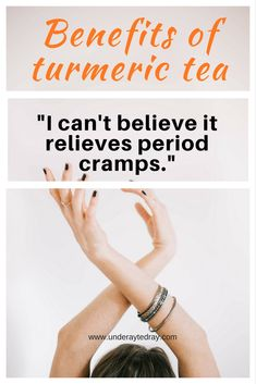 Important benefits and uses of turmeric. How to make turmeric tea and how turmeric tea relieves all types of pain including mild to severe period cramps.