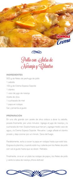 My Dessert, Cilantro, Mexican Food Recipes, Casseroles, Foodies, French Toast, Chicken Recipes, Vegetables, Breakfast