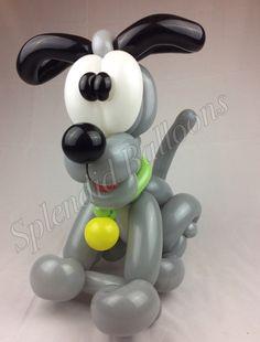 balloon puppy, dog, cute, balloon twisting, balloon art.