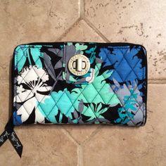 Vera Bradley Turnlock Wallet Camofloral Vera Bradley Bags Wallets