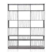 www.theloftasia.com very elegant display library unit / shelving in metal modern classic furniture piece available on The Loft Asia. www.theloftaisa.com