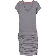 Tee Dress - The tee gets comfier than ever in a dressy style thats looser up top and form-fitting along the bottom.