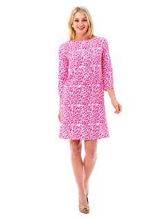 Jenna Dress in Leopard