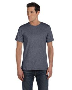 Bella Canvas Unisex Made in the USA Jersey ShortSleeve TShirt  DEEP HEATHER  3XL Color Deep Heather Size XXXLarge Model 3001U -- Read more reviews of the product by visiting the link on the image.