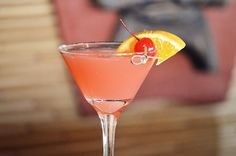 How to Make Our Blood Orange Martini at Home