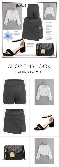 """""""ROMWE"""" by armina-saric ❤ liked on Polyvore featuring Luli"""