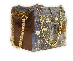 borsa jeans borchie - Cerca con Google