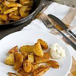 Gebakken aardappeltjes (de lekkerste!)
