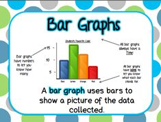Bar Graphing Poster FREEEEBIES!