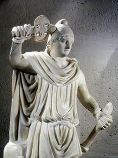 Statue of Mithras, ancient Persian god of light who was adopted into the Roman pantheon. Mithras is shown wearing the Phrygian cap. Ancient Rome, Ancient History, Art History, Ancient Greece, History Facts, Ancient Mysteries, Ancient Artifacts, Culte De Mithra, Rome Antique