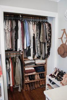 Ideal DIY Closet Storage Shelves