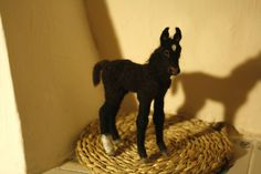 potrillo, foal | par Minzoo Needle Felting Sculptures