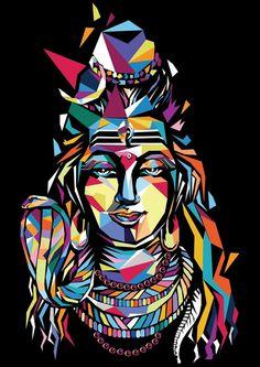 Paramchaintanya Men More madhu Mahakal Shiva, Shiva Art, Krishna Art, Lord Shiva Hd Wallpaper, Indian Gods, Indian Art, Pop Art Dibujos, Mahadev Hd Wallpaper, Lord Shiva Hd Images
