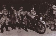 Members of the Hong Kong Volunteer Defence Corps, a local auxiliary militia force funded and administered by the colonial Government of Hong Kong, are photographed just before the fall of Hong Kong to. Kai Tak Airport, Evil Empire, Before The Fall, Black Christmas, Weird Pictures, World War Ii, Hong Kong, Ww2, The Past