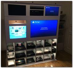 Nerd Room, Gamer Room, Nerd Cave, Sala Nerd, Video Game Shelf, Video Game Storage, Video Game Decor, Video Game Rooms, Video Games