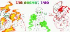 The Secret Trio by Washichan on deviantART