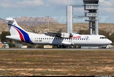 ATR ATR-72-500, Swiftair, EC-MKE, cn 494, first flight 24.7.1997 (Simmons Airlines), Swiftair delivered 18.1.2016. His last registered 8.4.2016 flight Ibiza - Palma de Mallorca. Foto: Alicante/Elche, Spain, 11.3.2016. Atr 72, Alicante, Ibiza, Aircraft, Spain, Planes, Aviation, Sevilla Spain, Ibiza Town