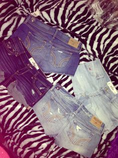 My hollister shorties